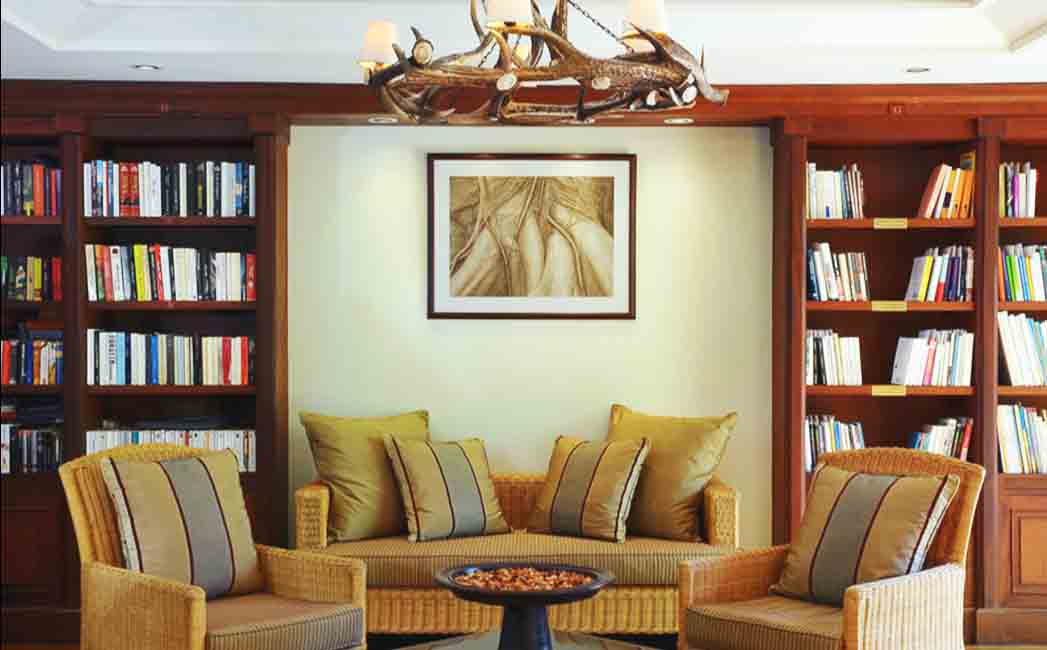 Library at Le Prince Maurice Mauritius