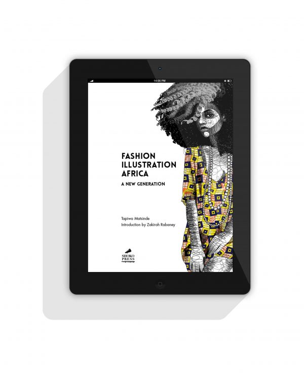 Digital African fashion book by African art book publisher Shoko Press