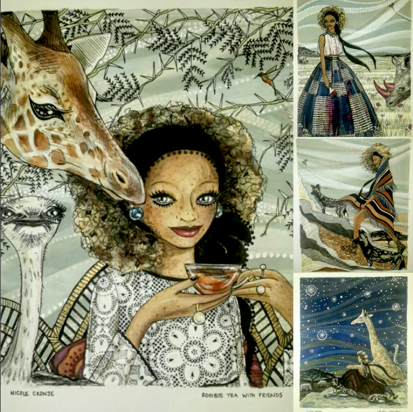 African fashion illustrators to know - Fashion Illustration Africa book by African art book publisher Shoko Press