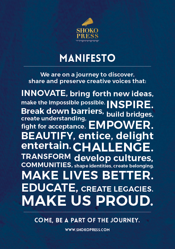 Shoko Press Manifesto