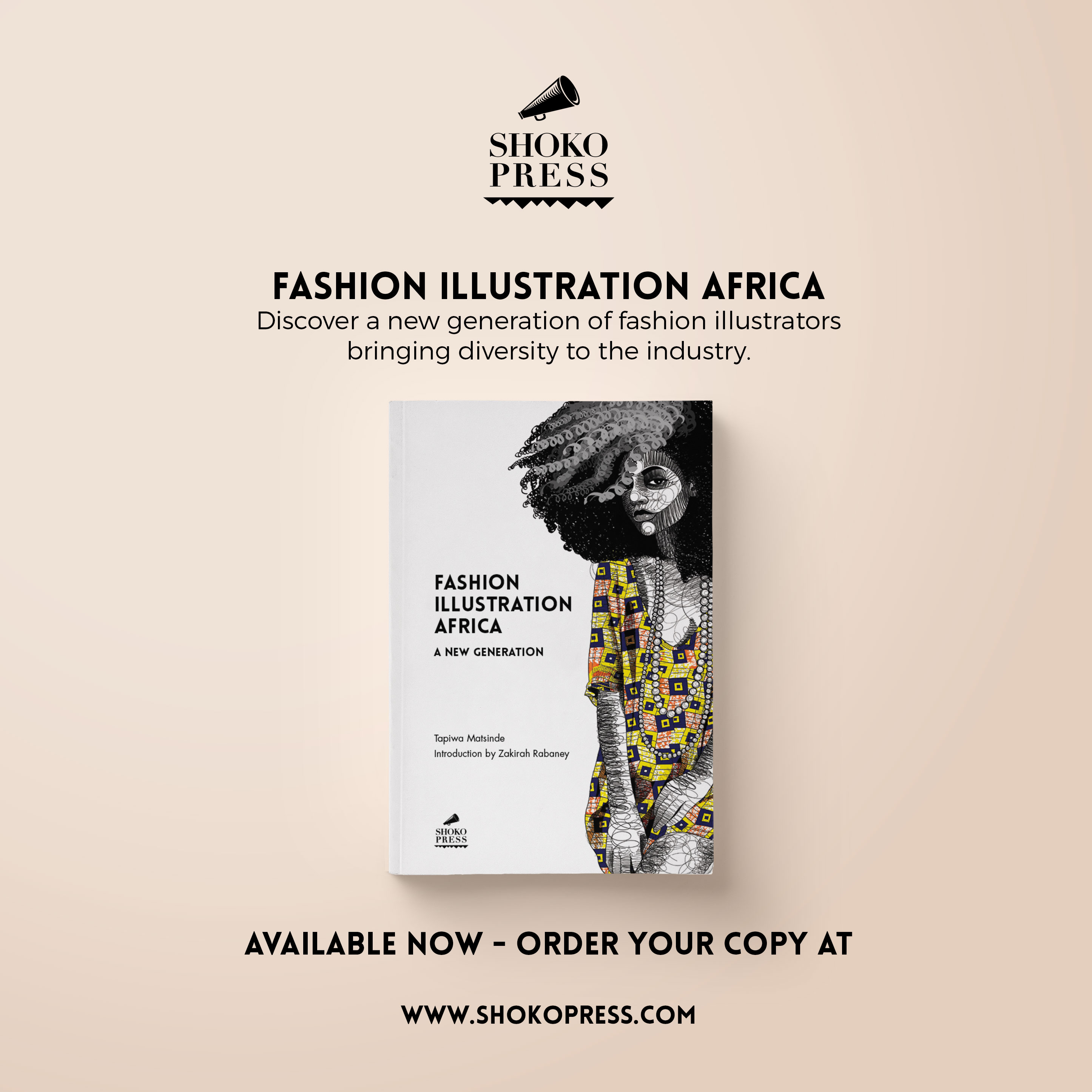 Fashion Illustration Africa published by Shoko Press