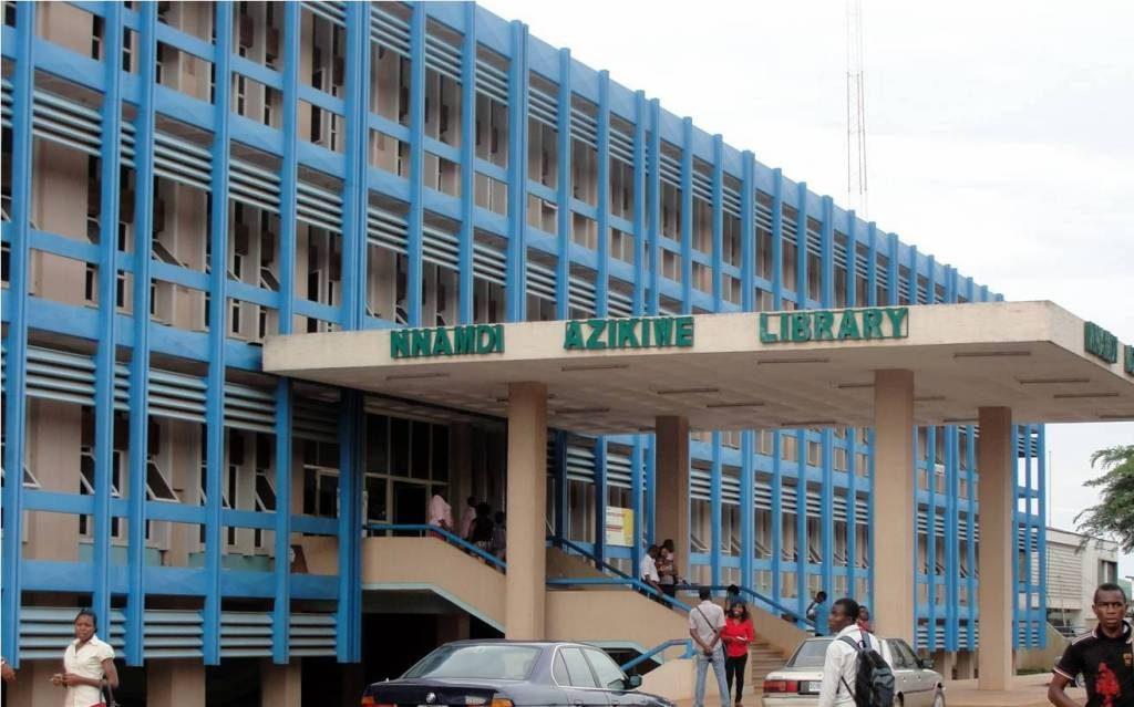 NNAMDI AZIKIWE LIBRARY, UNIVERSITY OF NIGERIA, NSUKKA – NIGERIA