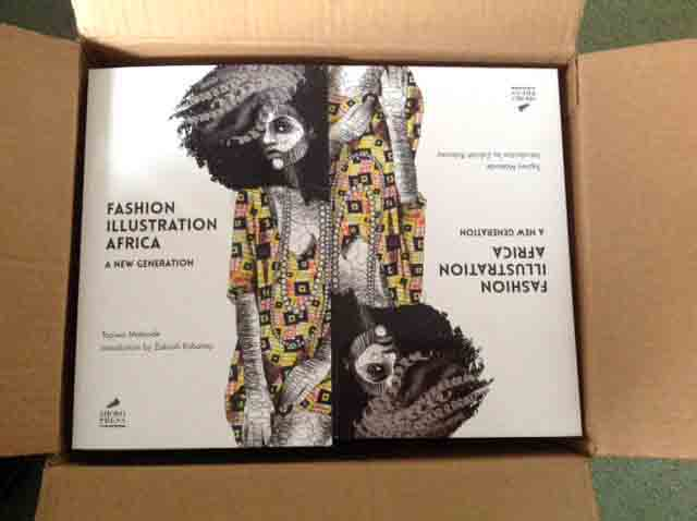 Fashion Illustration Africa - Delivery Open Box