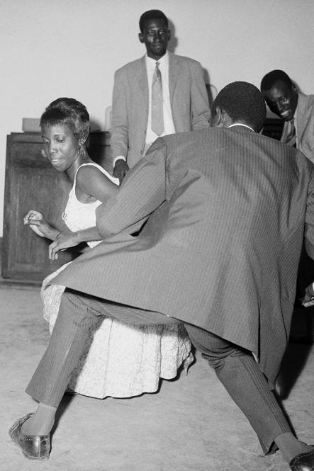 Dansez le Twist, 1965, iconic black and white photograph by Malian photographer Malick Sidibe