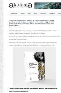 Interview about Fashion Illustration Africa on Akatasia