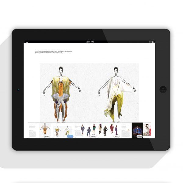 Cameroonian fashion designer and illustrator Nyorh Agwe featured in Fashion Illustration Africa