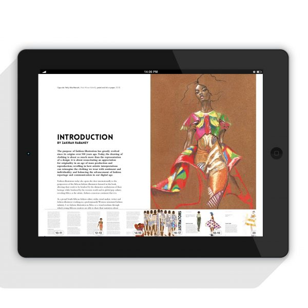 Nelly Mensah featured in Fashion Illustration Africa