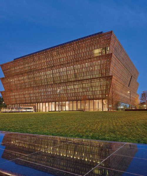 Traditional African Art Referenced In David Adjaye Architectural Designs National Museum of African American History and Culture inspired by Yourba Crown and Former Slaves Ironwork