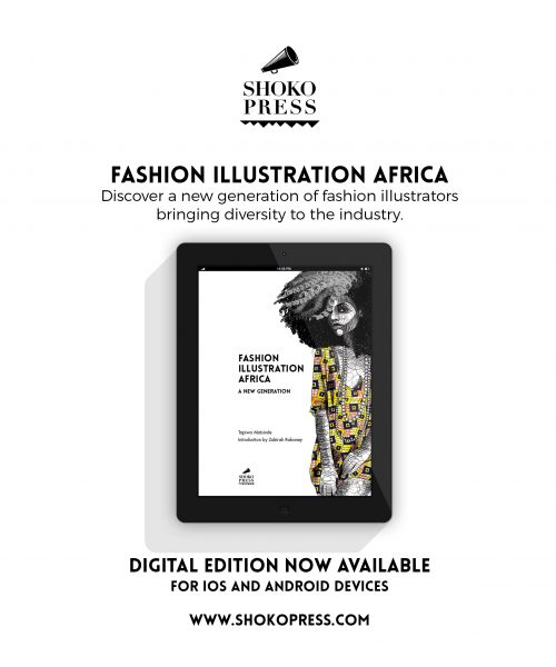 Fashion Illustration Africa Digital Download