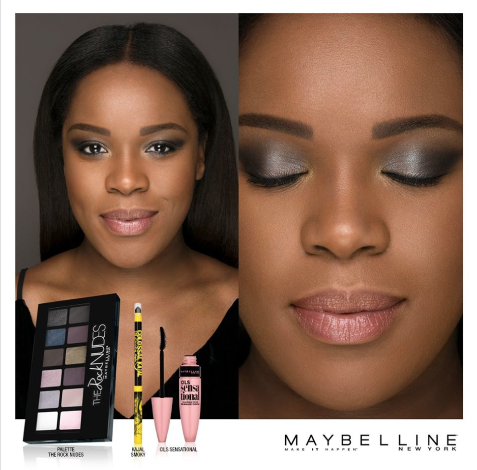 Mario Epanya - Maybelline new York Beauty Campaign