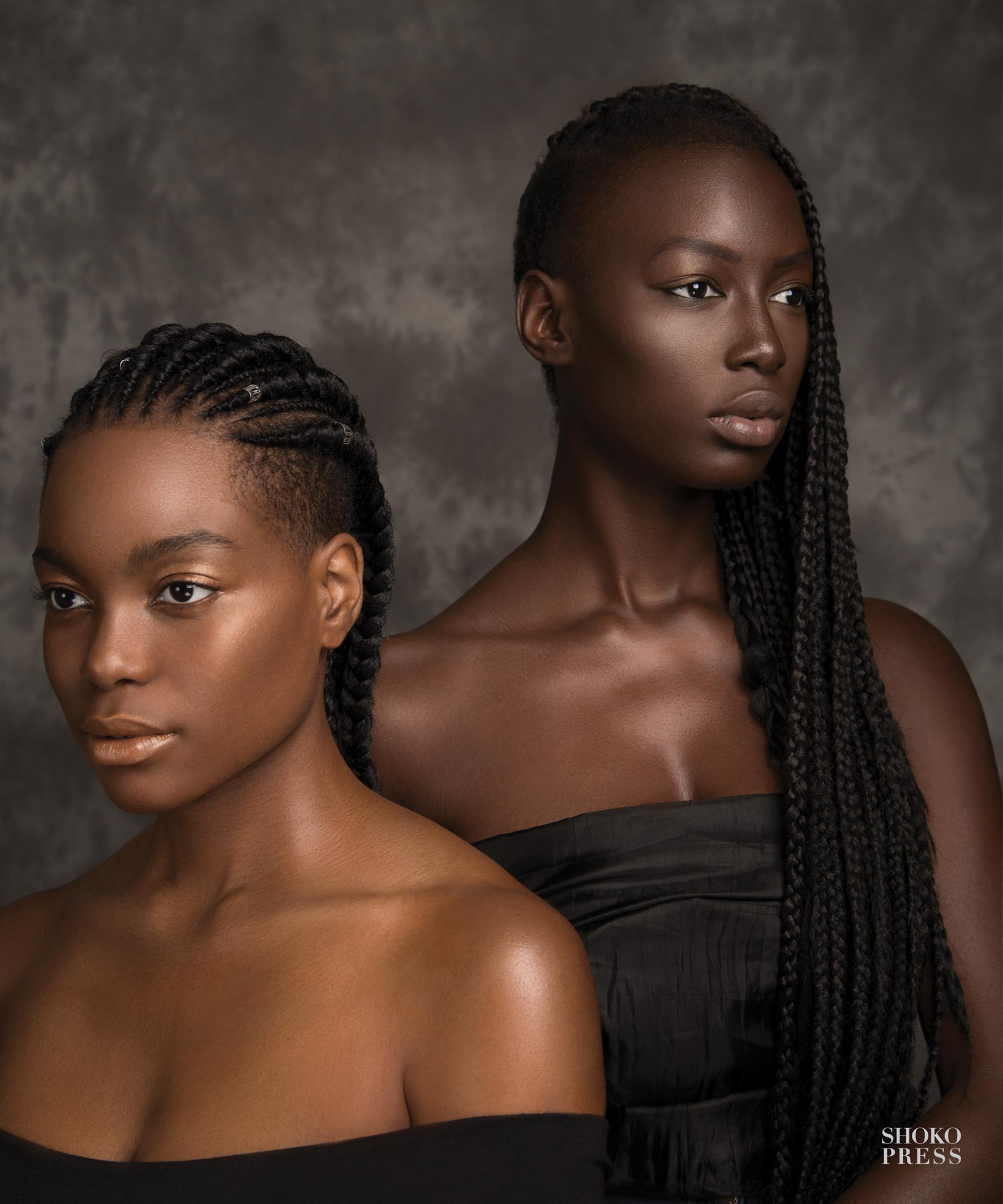 BEAUTIFUL Portraits of Black Beauty by photographer Mario Epanya published by Shoko Press