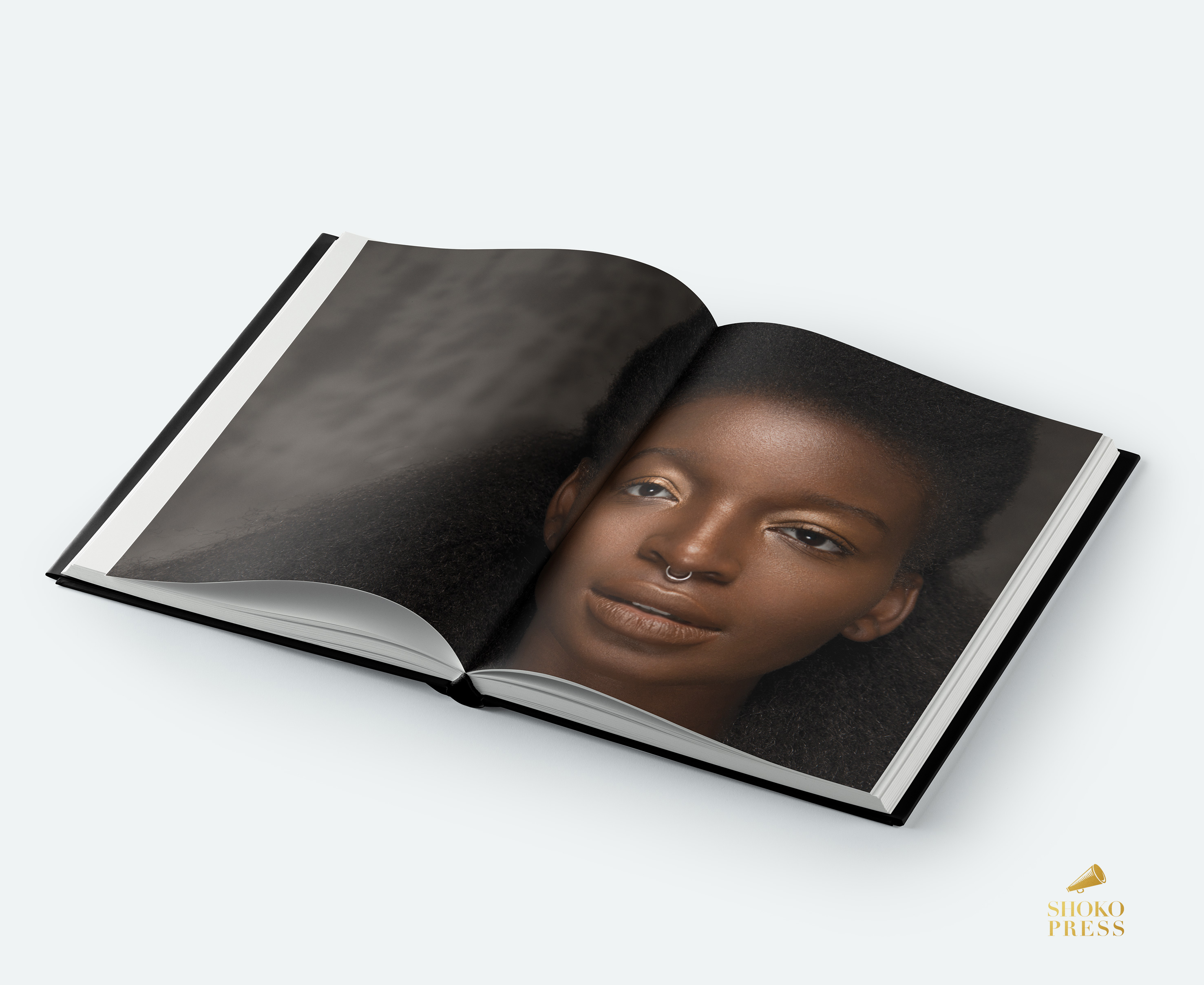 Portraits of Black beauty - BEAUTIFUL by Mario Epanya published by Shoko Press