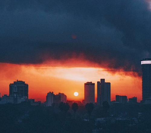 Nairobi City Skyline by Kenyan photographer Mutua Matheka aka Truth Slinger