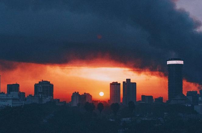 Nairobi City Skyline by Kenyan photographer Mutua Matheka aka Truth Slinger