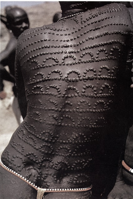 African Artists and designers Inspired by Scarification