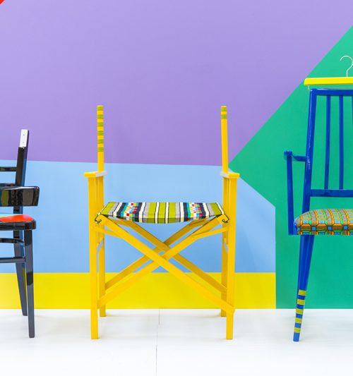 Yinka Ilori Chairs Storytelling through furniture
