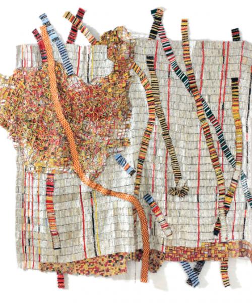 Shoko Press - Contemporary African Art - El Anatsui - Earth Developing More Roots - Sothebys