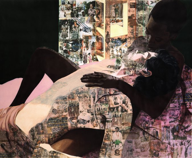 Shoko Press - Contemporary African Art - Njideka Akunyili Crosby - Drown - Sotheby's