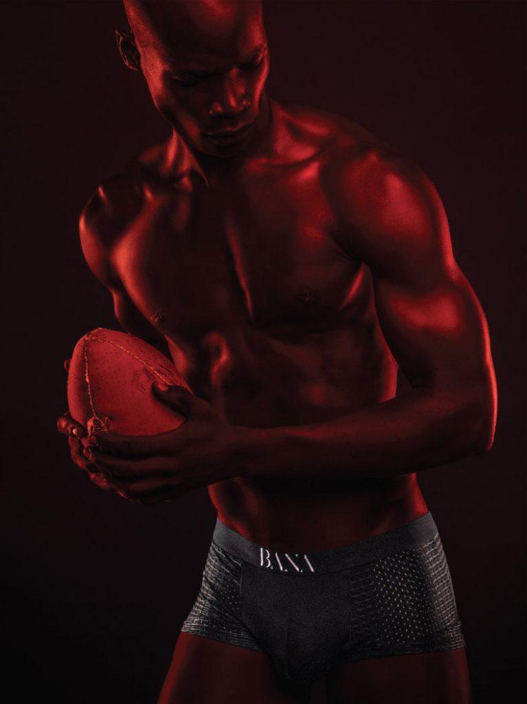 Osborne Macharia Ad For Bana Boxers
