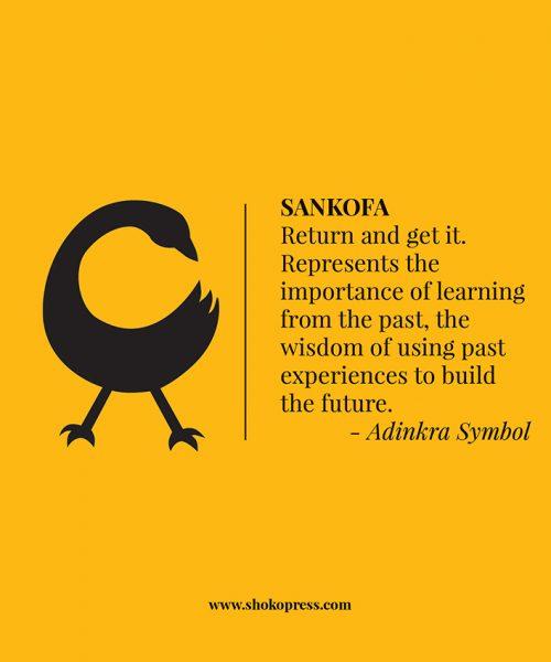 Sankofa Adinkra Symbol Shoko Press