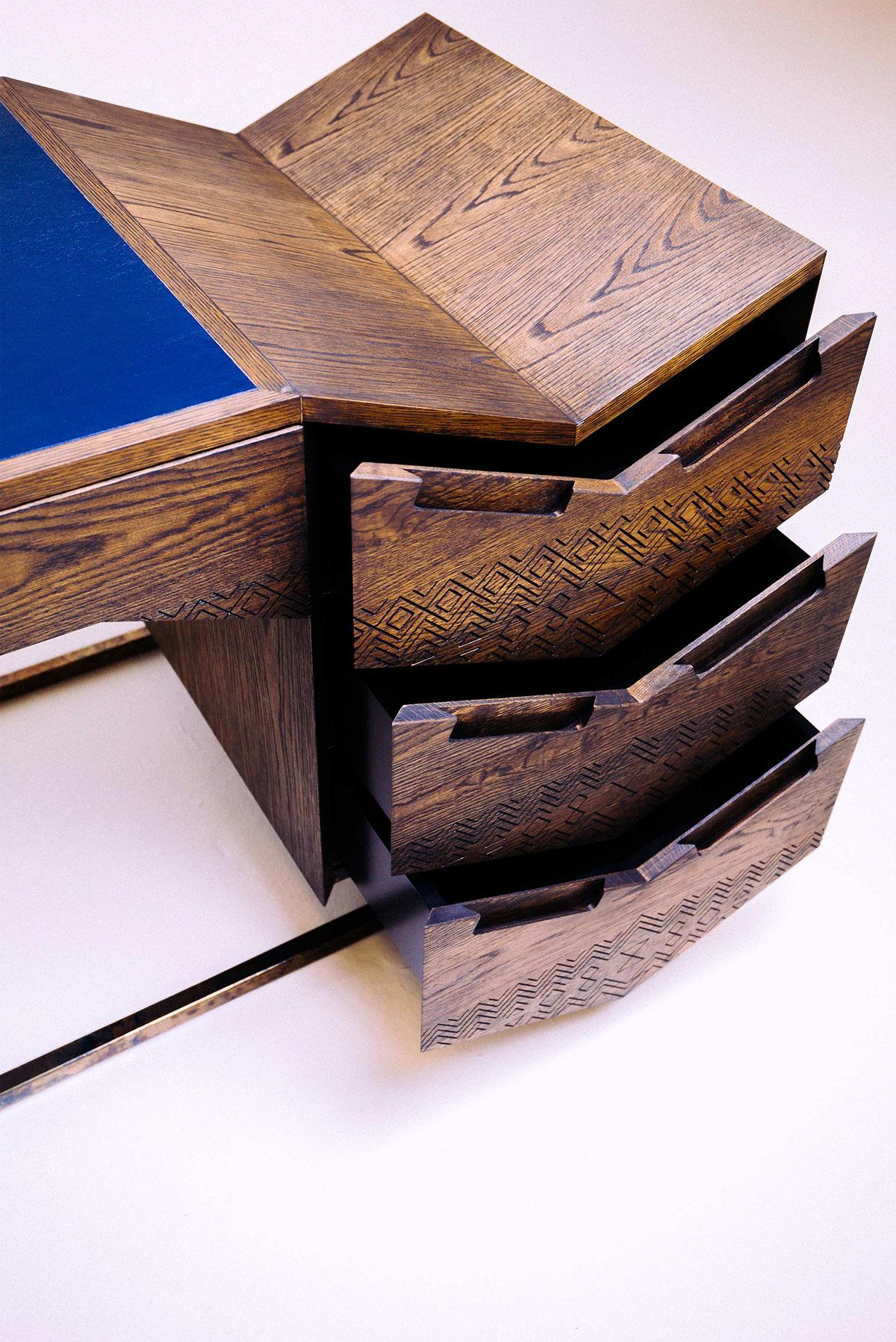 South African furniture designer Siyanda Mbele