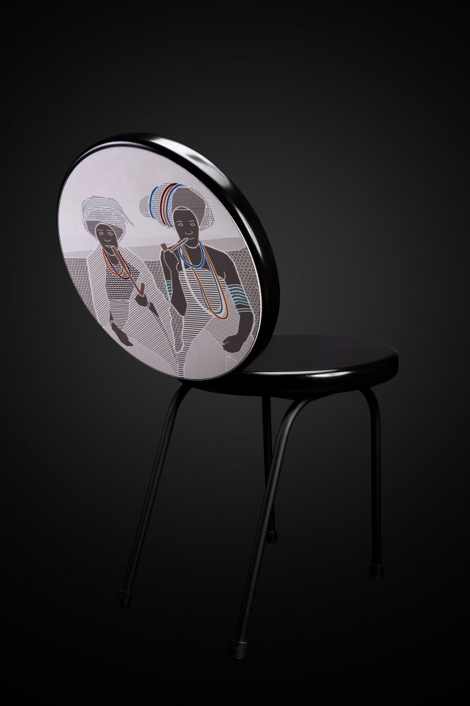 Mash T design Mojo chair Thabisa Mjo South African product design