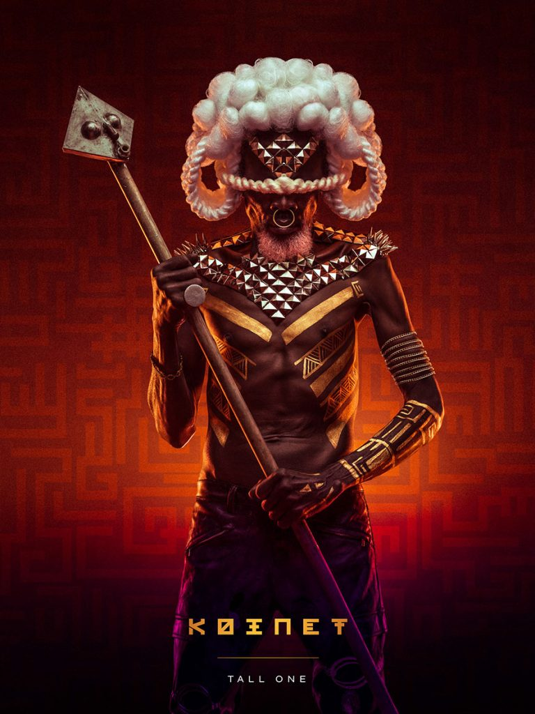 Kenyan Digital Artist Osborne Macharia Creates Art For The Black Panther Movie - Koinet Tall One