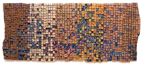 El Anatsui Wall Installation Contemporary African art Ghana artist