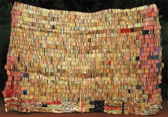 El Anatsui Wall Installation Contemporary African art Shoko Press article