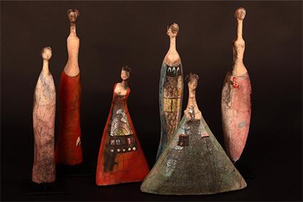 Etiyé Dimma Poulsen Sculptures inspired by traditional African art