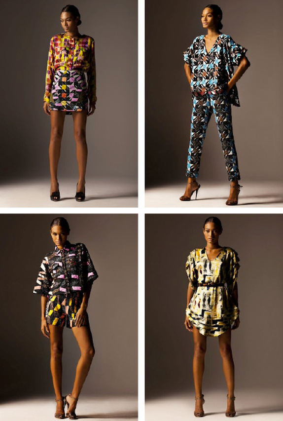 Banke-Kuku designs textiles for Nigerian Fashion Designer Lisa Folawiyo