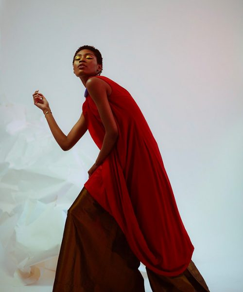 Cameroonian-American Fashion Designer Nyorh Agwe Floating In A Dream Collection Shoko Press Interview