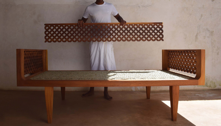 Architect and Furniture Designer Moran Munyuthe Saba Furniture Company Lamu Usitu Daybed Shoko Press Interview