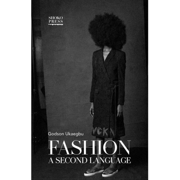 Black Woman in Afro Mask on Book Cover